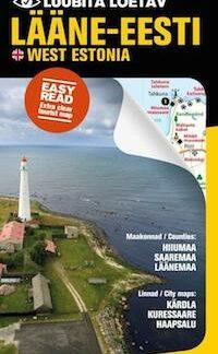 Laane Eesti West Estonia Kartta Svyl Verkkopuoti