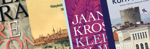 Laaja kattaus Viro-aiheista ja virosta suomennettua kirjallisuutta!