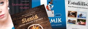 Käsityökirjoja, keittokirjoja, oppikirjoja – näitäkin kaikkia SVYL-Verkkopuodista!